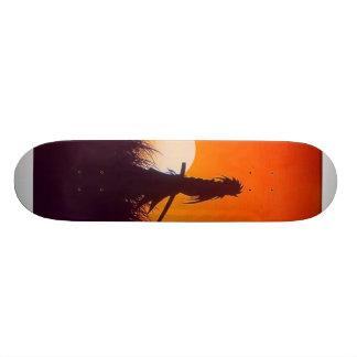 dark samurai custom skateboard