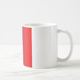 Dark Scarlet to Red Vertical Gradient Coffee Mug