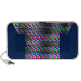 DARK Shade CRYSTAL Pattern Healing ART GIFTS FUN iPod Speakers