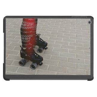 Dark shade of roller skates iPad air cases
