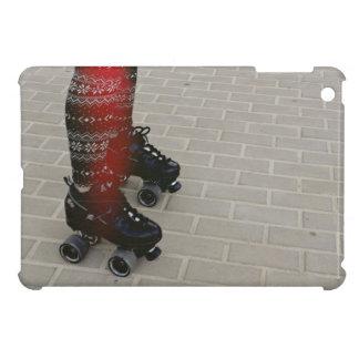 Dark shade of roller skates case for the iPad mini