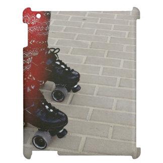 Dark shade of roller skates iPad covers
