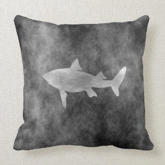 Dark Shark Art Cushion