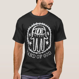 Dark Shirt: Hand of God w/Hand of God Text T-Shirt