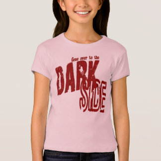Dark Side - Girls Baby Doll (Fitted) T-Shirt