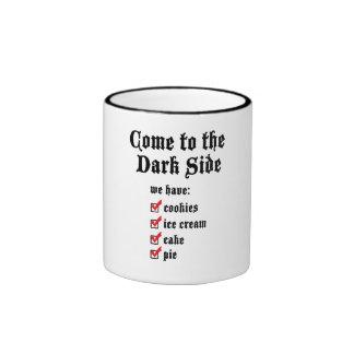Dark Side (list) Coffee Mugs