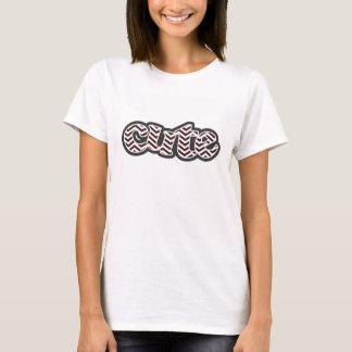 Dark Sienna Chevron; zig zag T-Shirt
