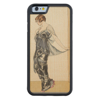 Dark Silver Gown from Mid 1900s Maple iPhone 6 Bumper Case