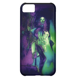 Dark Skeleton Fancy iphone 5 Barely There case Cover For iPhone 5C