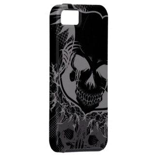 dark skull head abstract iPhone 5 cover
