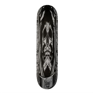 Dark Skull Skateboard