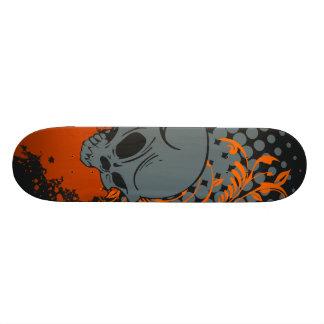 Dark skull skateboard decks