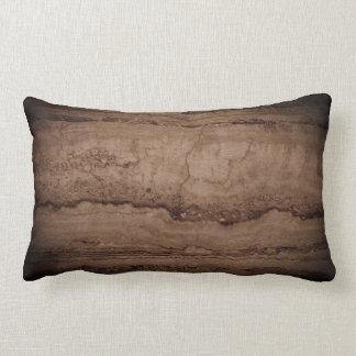 Dark Smokey grey Granite Lumbar Cushion