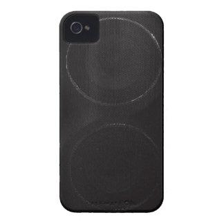 Dark Speaker iPhone 4 Case