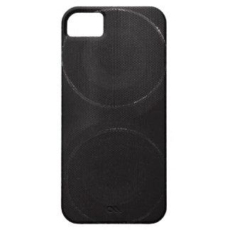 Dark Speaker iPhone 5 Cover