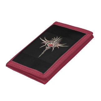 dark spirit trifold wallets