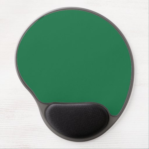 Dark Spring Green Gel Mouse Pad
