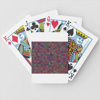 Dark squares bicycle playing cards