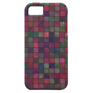 Dark squares iPhone 5 case