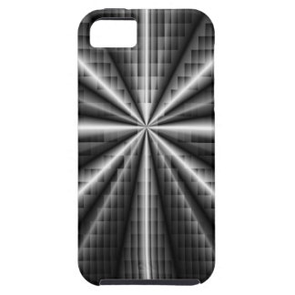 Dark Stainless Steel Mosaic iPhone 5 Covers