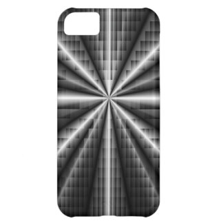 Dark Stainless Steel Mosaic Cover For iPhone 5C