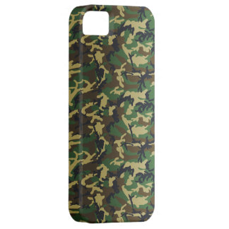 Dark Standard Woodland Camo iPhone 5 Cover