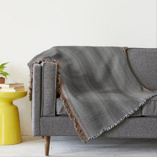 Dark Steel Gray Stripe Line Industrial Pattern