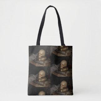 Dark still life bag