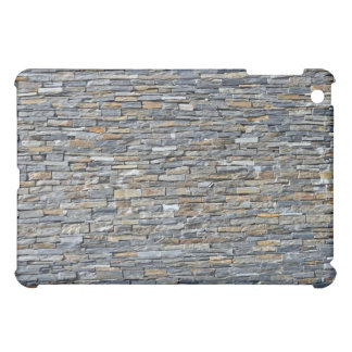 Dark Stone Wall Detail Case For The iPad Mini