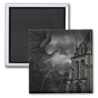 Dark stormy night magnet