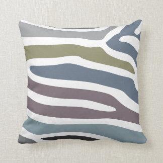 Dark Stripes Pattern American MoJo Pillows