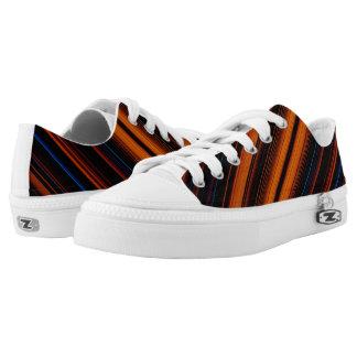 Dark Stripes Printed Shoes