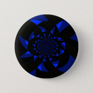Dark Swirl 6 Cm Round Badge