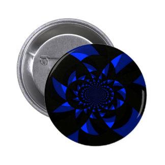 Dark Swirl 6 Cm Round Badge