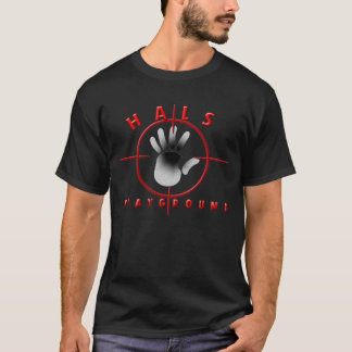 Dark T-Shirt W/ Red Logo