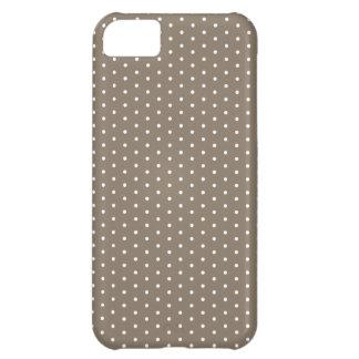 Dark Tan Dot iPhone iPhone 5C Case