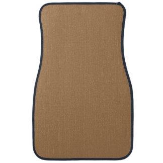 DARK TAN (or light brown solid color) ~ Car Mat
