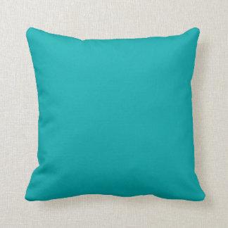 """Dark Teal"" Cushion"