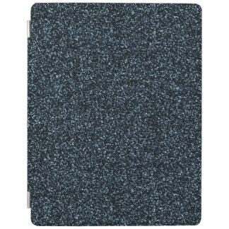 Dark teal glitter iPad cover