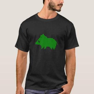 Dark tee-shirt - Wild boar a HEAT IN ADVANCE T-Shirt