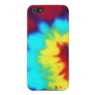 Dark Tie Dye Design Case For iPhone 5/5S