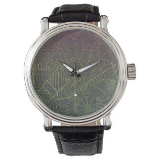 Dark Tie Dye Watch