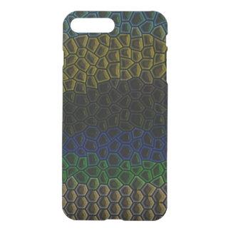 Dark tile pattern iPhone 7 plus case