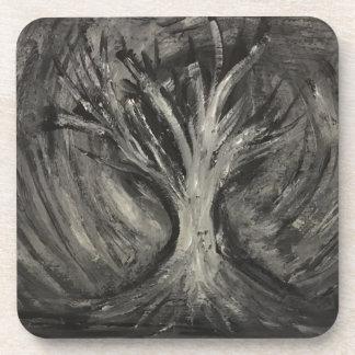Dark Tree Coasters