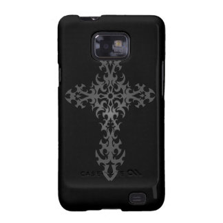 Dark Tribal Gothic Cross Samsung Galaxy S2 Cover