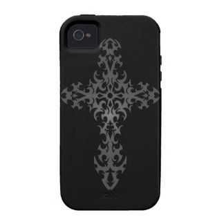 Dark Tribal Gothic Cross Case-Mate iPhone 4 Cover