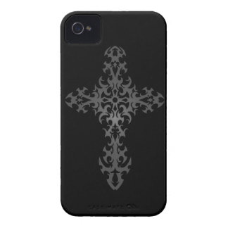 Dark Tribal Gothic Cross iPhone 4 Covers