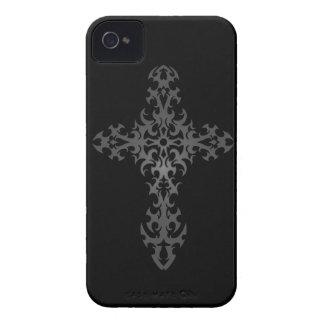 Dark Tribal Gothic Cross iPhone 4 Cover