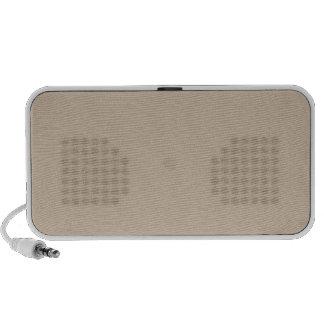 Dark Vanilla Brown Travel Speaker