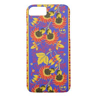 Dark Vibrant Hohloma iPhone 7 Case
